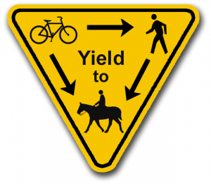 Yield Trail Sign Tempe No Meat Athlete Members Area